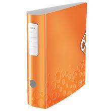 LEITZ Ordner WOW 1106 A4 8,2 cm orange-metallic