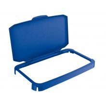 DURABLE Klappdeckel Durabin 60 blau