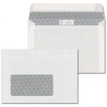 ÖKI Fensterkuvert Classic C6-ÖF/CLA80F 1000 Stück DIN C6 mit Haftstreifen 80g/m² weiß