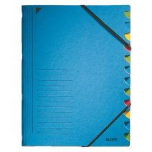 LEITZ Ordnungsmappe 391203 A4 12-teilig blau