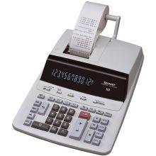 SHARP Tischrechner 2635 druckend weiß