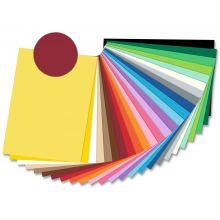 FOLIA Fotokarton 6127 50 x 70 cm 300 g/m² weinrot