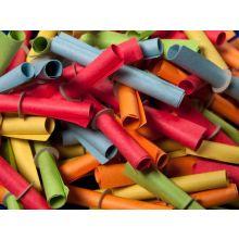 Röllchenlose Treffer 501-550 50 Stück mehrere Farben