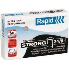 RAPID Heftklammern 24/8+ Super Strong 1000 Stück silber