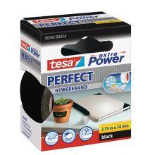 TESA Gewebeband 56343 Extra Power 38 mm x 2,75 m schwarz
