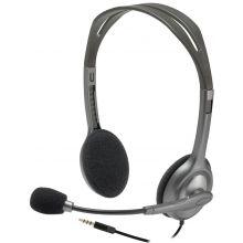 LOGITECH Headset H111 Stereo grau