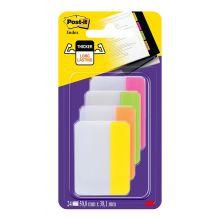 POST-IT Index Strong 38 x 50,8 mm 4 x 6 Stück mehrere Farben