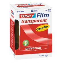 TESA Klebeband Box 57372 15 mm x 66 m 10 Rollen transparent