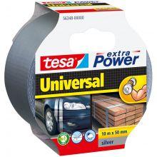 TESA Gewebeband 56348 50 mm x 10 m silber
