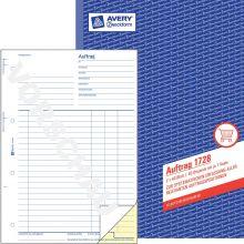 AVERY ZWECKFORM Auftrag 1728 DIN A4 2x40 Blatt selbstdurchschreibend
