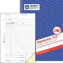 AVERY ZWECKFORM Regiebericht 1775 DIN A5 2x40 Blatt selbstdurchschreibend