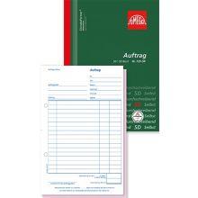 OMEGA Auftragsbuch A5 2 x 50 Blatt grün