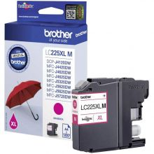BROTHER Tintenpatrone LC225XL 1,2K magenta