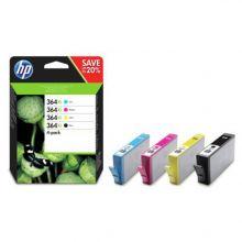 HP Tintenpatrone Nr. 364XL 4 Stück 36 ml schwarz und color