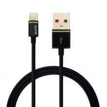 "LEITZ USB Kabel ""Lightning"" 1 m schwarz"