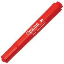OPTIMA Marker 210 Keilspitze 1-5 mm permanent rot