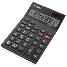 SHARP Tischrechner EL-125TWH