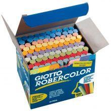 GIOTTO Tafelkreide Rober Color 100 Stück farbig sortiert