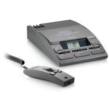 PHILIPS Schreibtisch-Diktiersystem A725D schwarz
