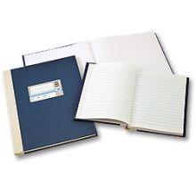 WURZER Geschäftsbuch A4 192 Blatt liniert dunkelblau
