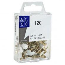 ALCO Reißnägel ALC153A10 120 Stück weiß