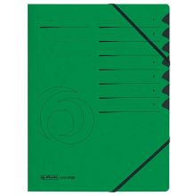 HERLITZ Ordnungsmappe 1-7 Colorspan grün