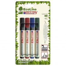 EDDING Marker ECO 21/4 permanent 4 Stück mehrere Farben
