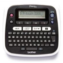 BROTHER Tisch-Beschriftungsgerät P-Touch D200BW 2 Zeilen