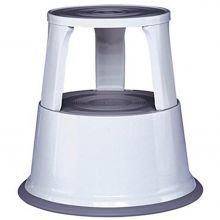 ALCO Rollhocker 895-29 Metall grau