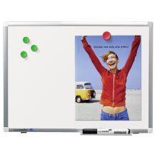 LEGAMASTER Whiteboard Premium Plus 120 x 200 cm weiß