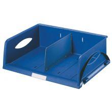 LEITZ Ablagekorb Sorty A4 quer blau