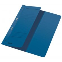 LEITZ Ösenhefter 3740 A4 halber Deckel blau