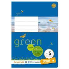 URSUS GREEN Heft FX 5 A5 liniert 20 Blatt