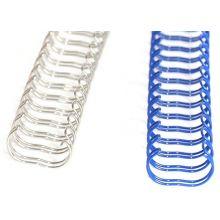 RECOsystems Drahtbinderücken 2:1 9,5 mm 100 Stück silber