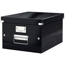 LEITZ Archivbox 6044 C&S A4 schwarz