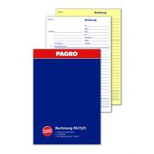 PAGRO Rechnungsbuch A5 2 x 40 Blatt