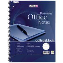 LANDRÉ Collegeblock A4 80 Blatt liniert