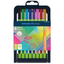 SCHNEIDER Fineliner Line-Up 0,4 mm 8 Stück mehrere Farben