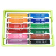 JOLLY Buntstifte 9500-0047 Big Box Grundfarben 240 Stück mehrere Farben