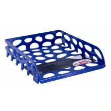 SAX Briefkorb Voronoi 555 A4 dunkelblau