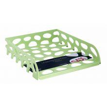 SAX Briefkorb Voronoi 555 A4 hellgrün