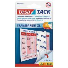 TESA Klebepads 59404 Tack 36 Stück transparent