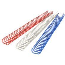 RECOsystems Drahtbinderücken 3:1 100 Stück 9,5 mm weiß