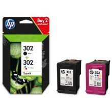 HP Tintenpatrone Nr. 302 2 Stück 7,5ml schwarz/color