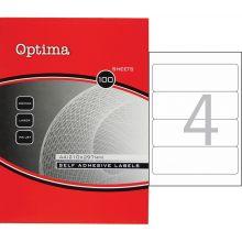 OPTIMA Ordner-Etikett 32105 192 x 61 mm 100 Blatt
