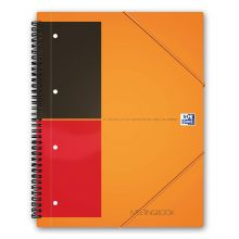 OXFORD Collegeblock Meetingbook A4+ 80 Blatt liniert