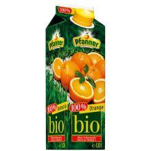 PFANNER Orangensaft Bio Tetra-Pak 1 Liter