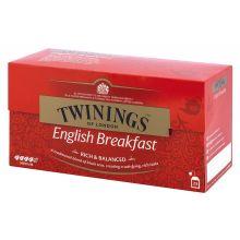 TWININGS Schwarzer Tee English Breakfest 25 Beutel