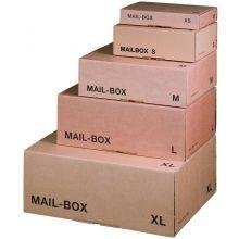 SMARTBOX Versandkarton Mail-Box L braun
