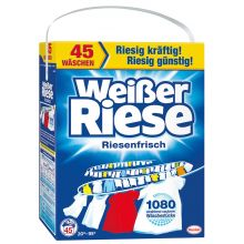 WEISSER RIESE Waschpulver Riesenfrisch 45 Waschgänge